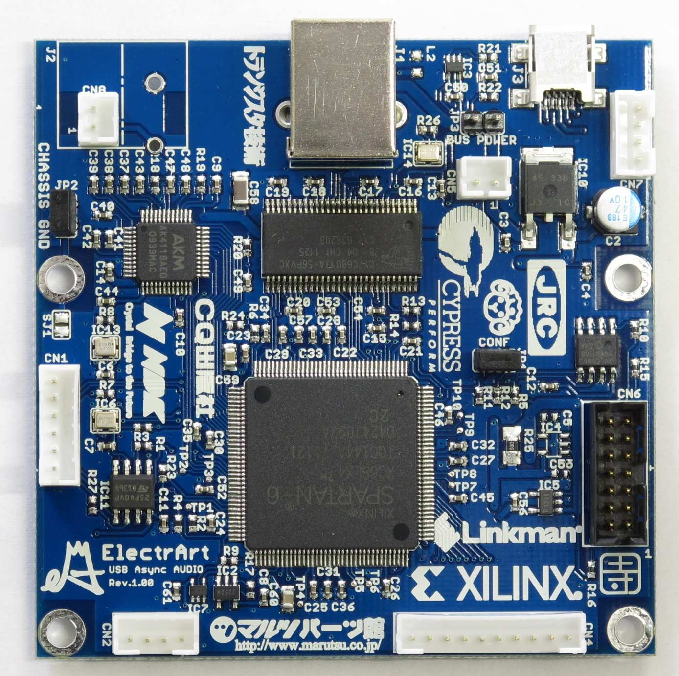 USB-FPGA基板